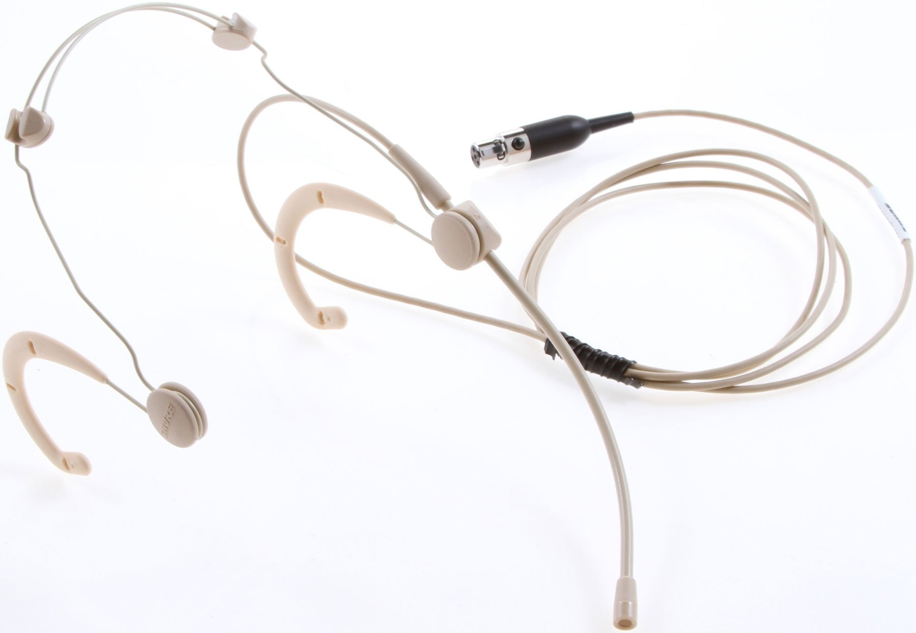 BETA 53 Omnidiredctional Headworn Microphone for Wireless with TA4F Connectors in Tan