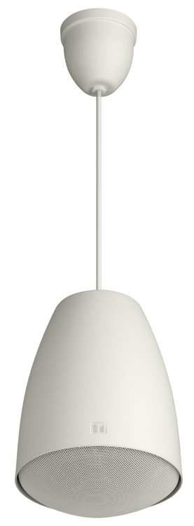 Music/Paging Pendant Speaker, White