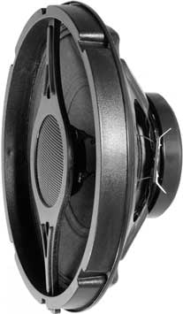"""Two-Way 8"""" Speaker (with White Baffle, not shown)"""