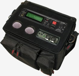 Portable Audio Recorder Broadcasting Bag