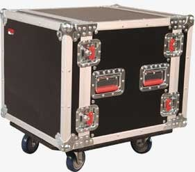 10-Space ATA-Style Rack Case (with Locking Caster Board)