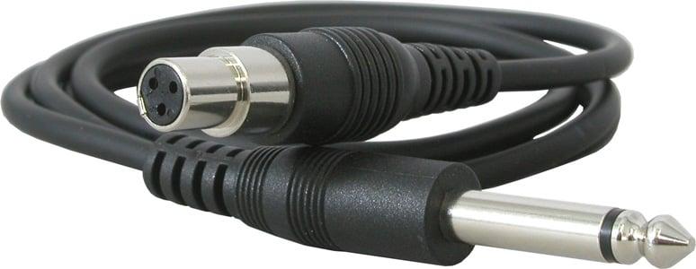 """1/4"""" to Mini XLR (TA3F) Instrument Cable"""
