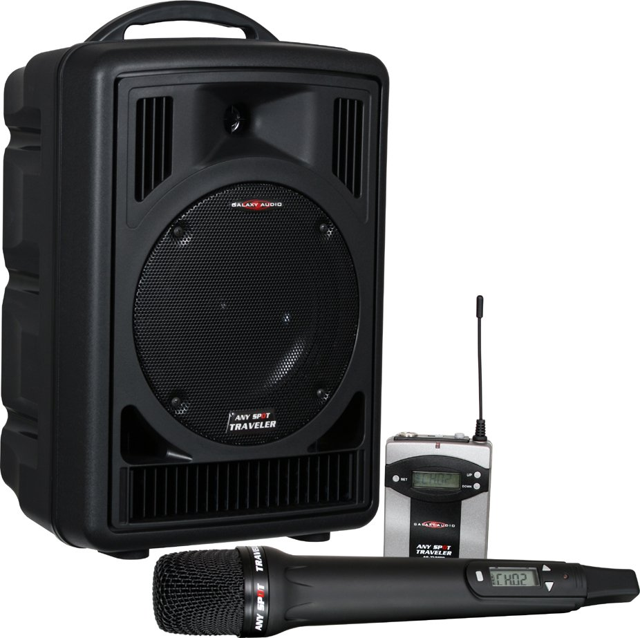 Traveler 8 Portable PA System (with Wireless Mic and Receiver)