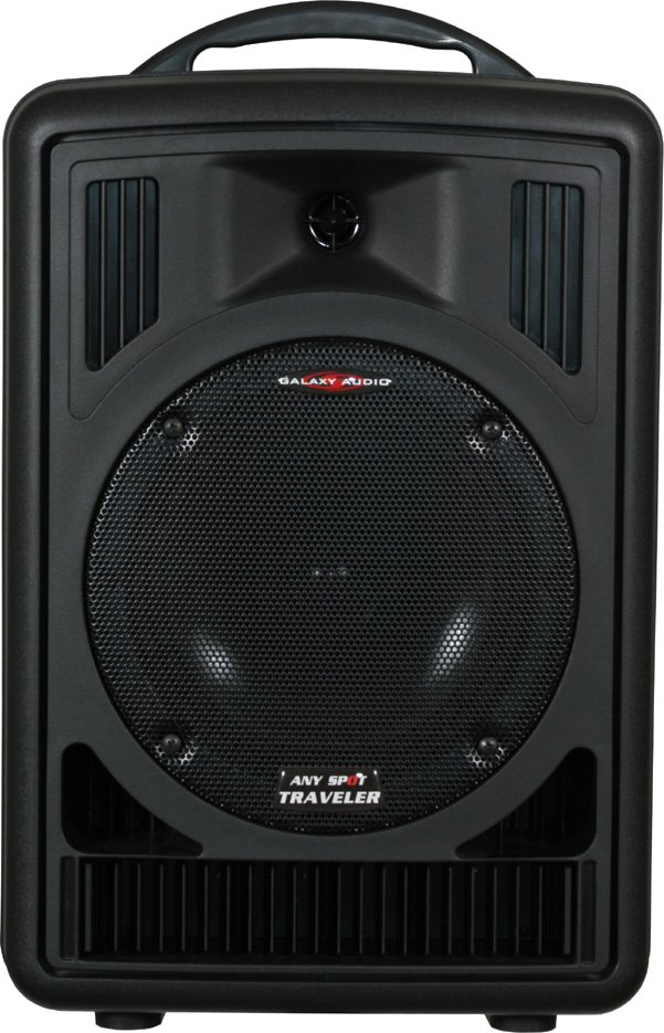 Traveler 8 PA System (with 2 Wireless Microphone Transmitters, 2 Receivers, CD Player, Audio Link Transmitter)