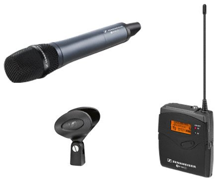 Camera Mount Handheld Wireless Microphone System with the e835