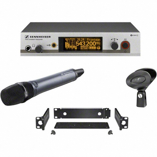 Wireless Handheld Microphone System with e835