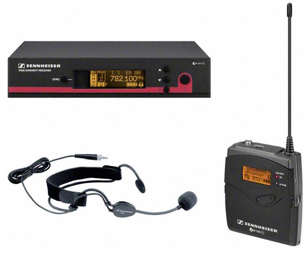 Sennheiser ew 152 G3 Wireless Headworn Microphone System with ME3-EW Headmic EW152-G3