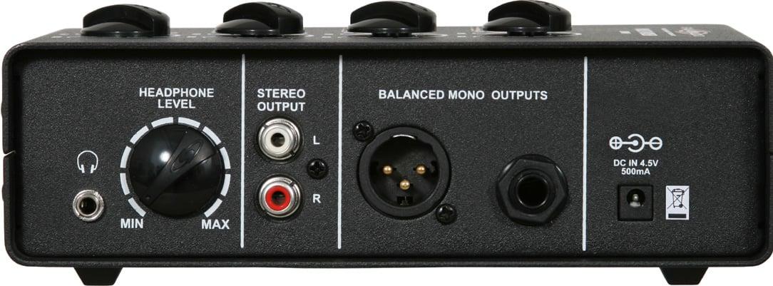 Multi Mixer 7 Input Microphone Mixer