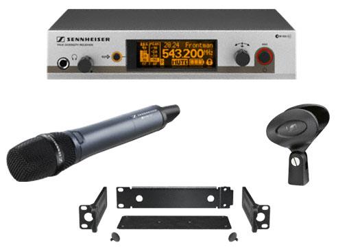 Sennheiser EW 345 G3 Wireless Handheld Microphone System with e845 EW345-G3