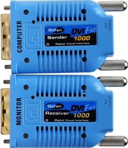 DVI Over Fiber Optic Extender