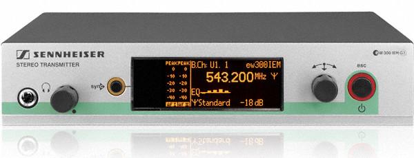 Rackmountable Wireless In-Ear Monitoring Transmitter