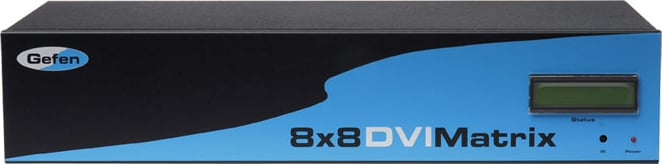 Gefen Inc EXT-DVI-848  8x8 DVI Matrix  EXT-DVI-848