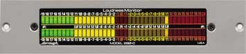 Audio Meter, Analog Loudness, 20dB of Headroom, Horizontal