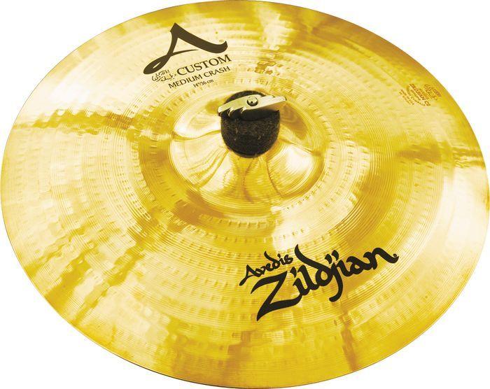 "17"" A Custom Medium Crash Cymbal"