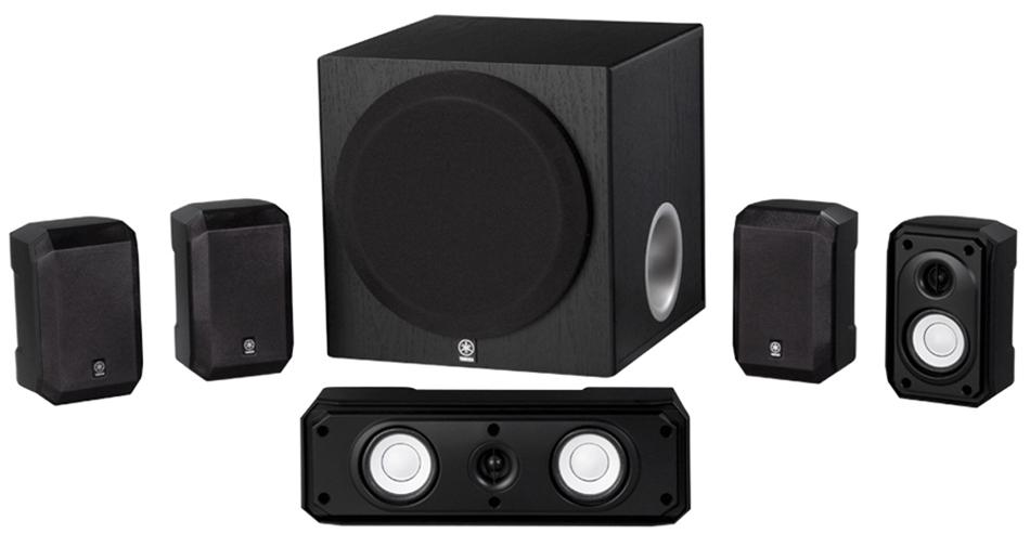 5.1-Channel Speaker System in Black