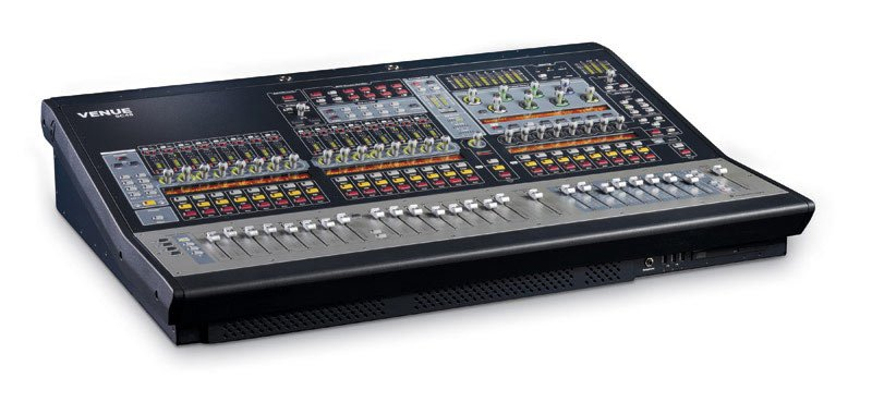 Digital Mixing Console with Two Power Supplies