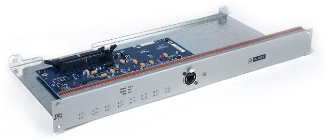 16-Channel A-Net Output Card for VENUE Mix Rack, VENUE SC48 Console
