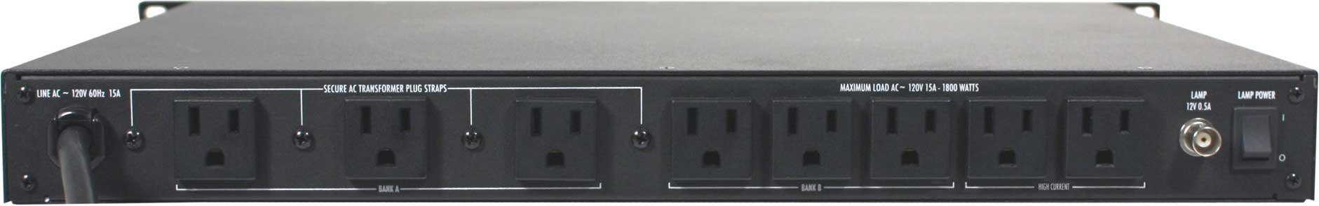 furman p1800pfr power conditioner surge suppressor 15a full compass. Black Bedroom Furniture Sets. Home Design Ideas