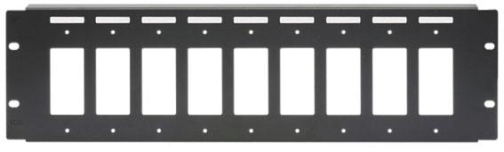3RU Rack Panel Mount for 9 Decora Models