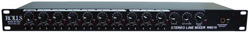 Stereo Line Mixer, Black