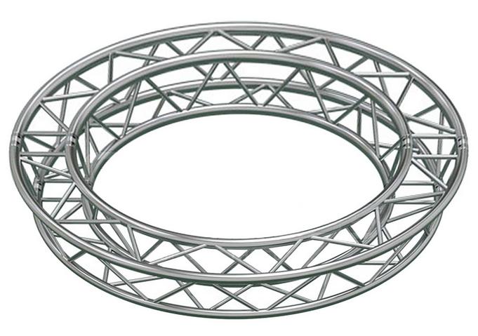 13.12 ft. Circle Arc Truss with 4 x 90 Degree Arcs