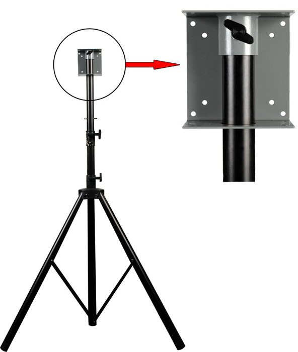 Combo Stand & VESA LCD Mount for Monitoring