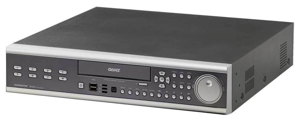 Computar/Ganz DR8N-500  DVR, 8 Channel with 500GB Hard Drive DR8N-500
