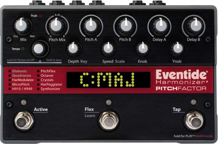 Twin Pitch/Delay Stompbox