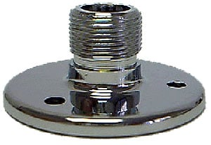 "Podium Mount Flange, Chrome, 1.75"" diameter"