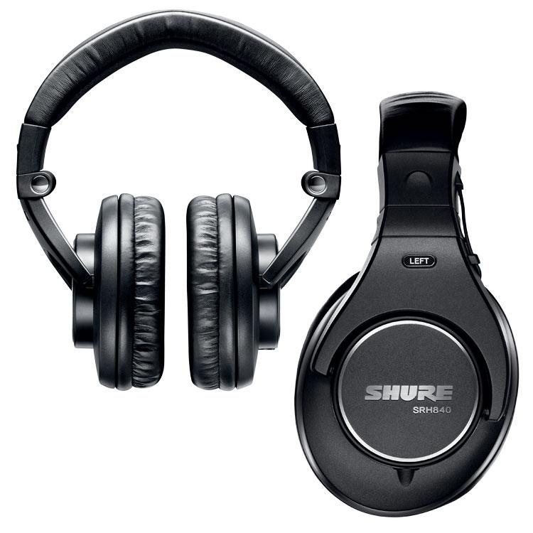 Shure SRH840 Professional Monitoring Headphones SRH840