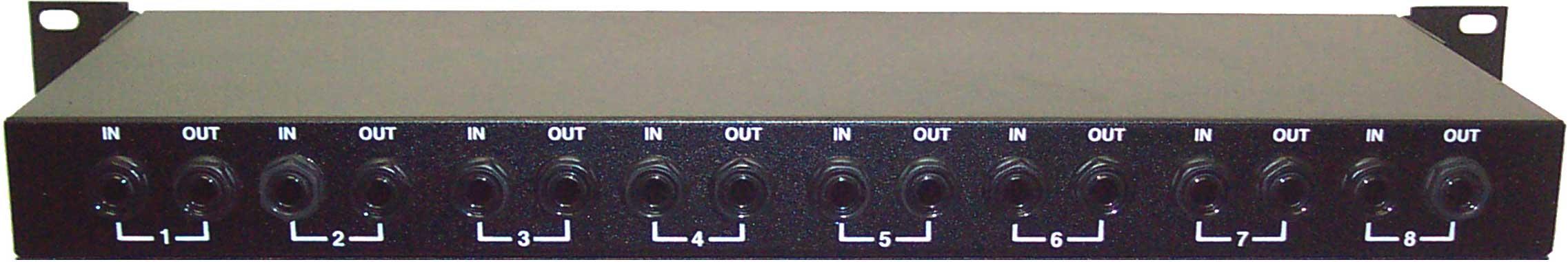 8 channel rack box