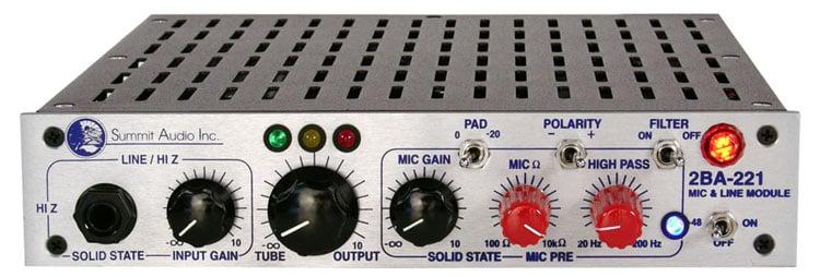 Mic/Line Preamp Module