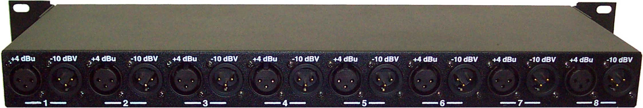 Line Level Shifter, Rackmount, XLR Connectors