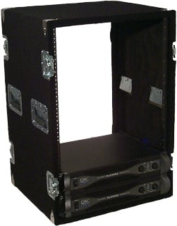 16-Space Amp Rack (Black)