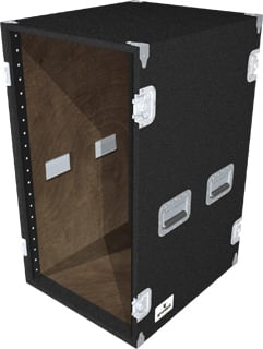 20-Space Extra-Deep Amp Rack (Black)