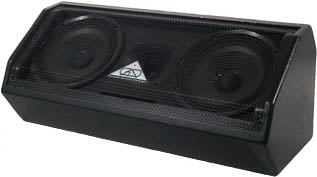"8"" Two-Way Dual Bass Reflex Multi-Angle Loudspeaker System (with Handle, No Pole Mount, Black)"