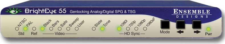 Genlockable Sync Generator and Test Signal Generator