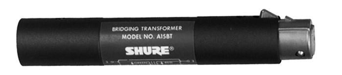 Bridging Transformer, XLR-F to XLR-M