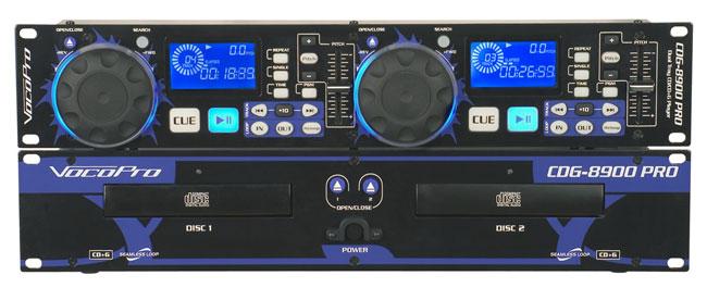 Dual DJ CD/Karaoke Player