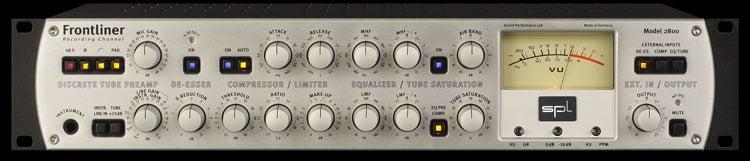 SPL Sound Performance Lab FRONTLINER Channel Strip, Model 2800 FRONTLINER