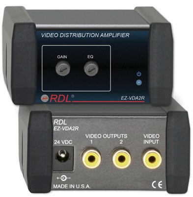 1x2 Video Distribution Amp RCA