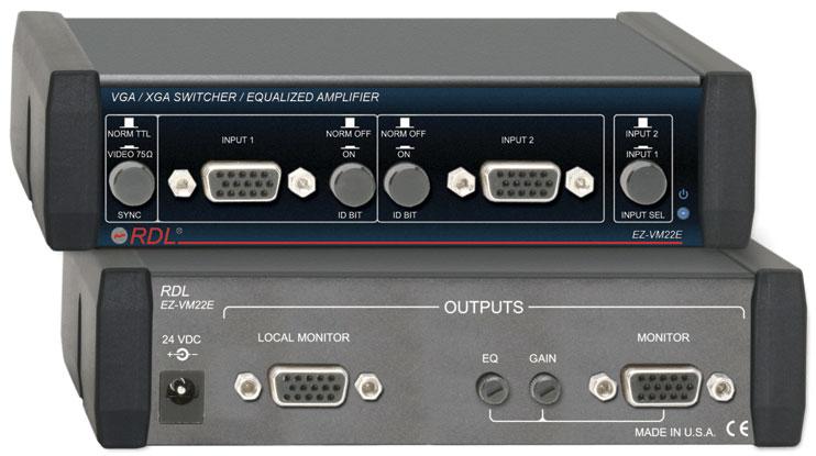 Switcher, 2x2 VGA/XGA