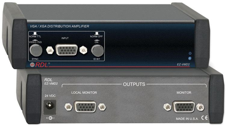 1x2 Video Distribution Amp VGA/XGA