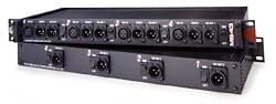 4 Channel, 1 into 3 Microphone Splitter