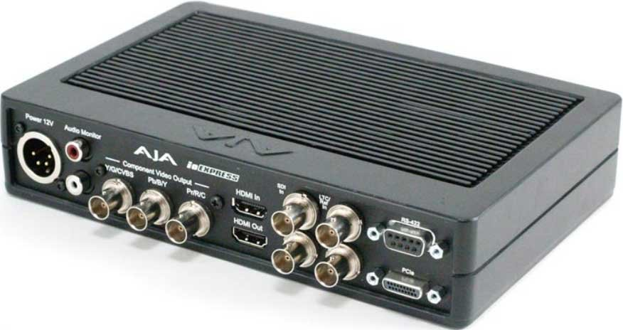 Portable Video/Audio I/O Interface with Express Card/34 Adapter & Power Supply