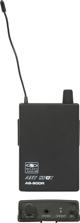 Any Spot Wireless Bodypack Receiver for AS-900 Series