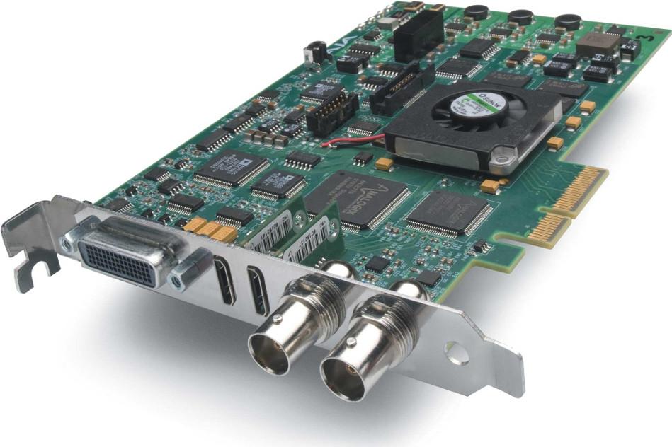 HD/SD 10-bit Digital and 12-bit Analog PCIe Card, HDMI I/O