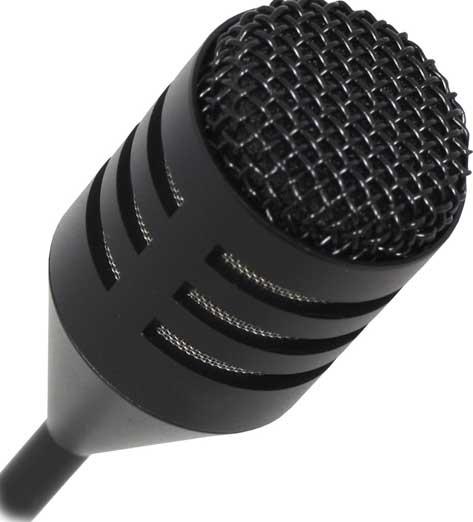 """19"""" Dynamic Cardioid Gooseneck Microphone"""