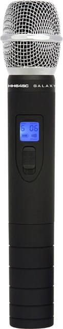 Super Dynamic Cardioid Condenser Handheld Wireless Mic