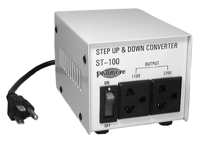 100 Watt Step Up/Step Down Transformer (110v/220v)
